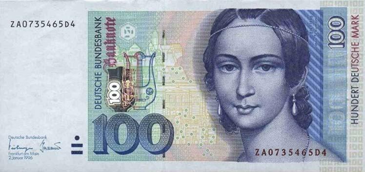 деньги в германии, деньги германии, немецкая марка, германия валюта