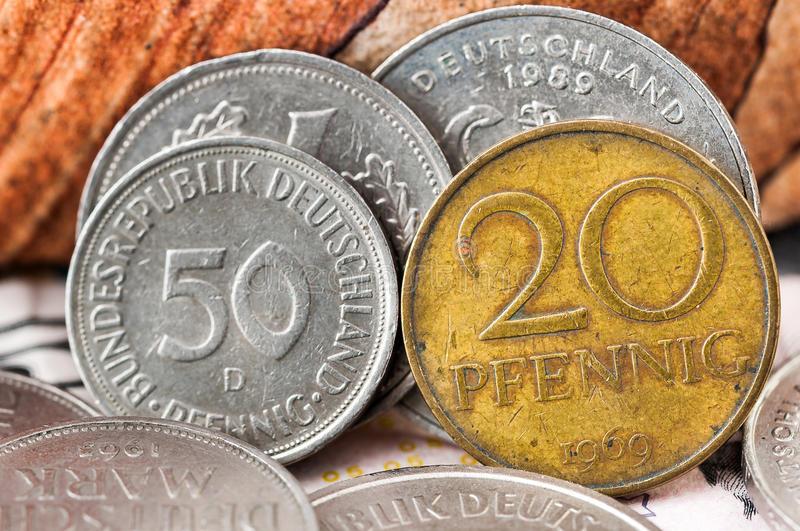 деньги в германии, деньги германии, немецкая марка