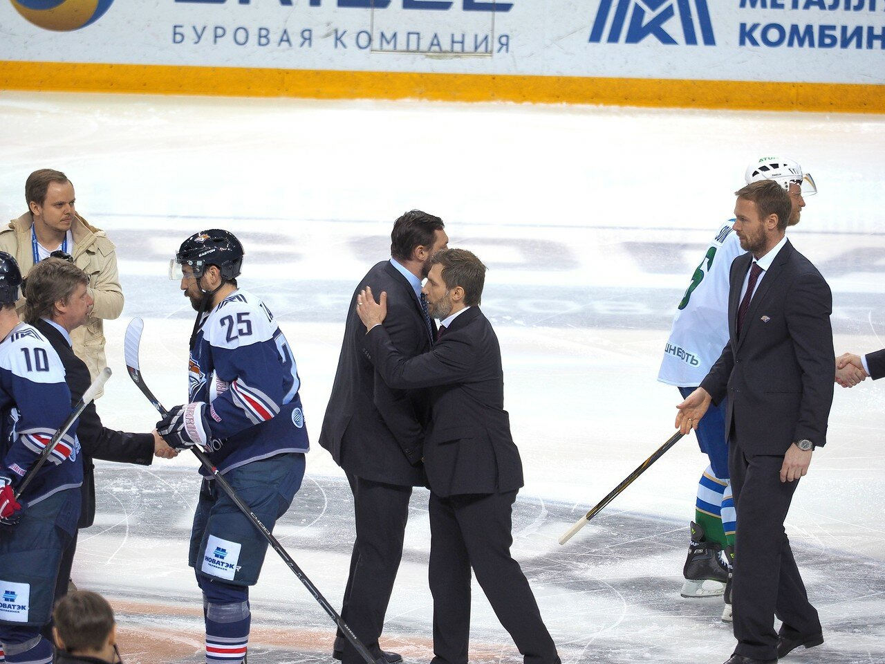 94Плей-офф 2016 Восток Финал Металлург - Салават Юлаев 31.03.2016