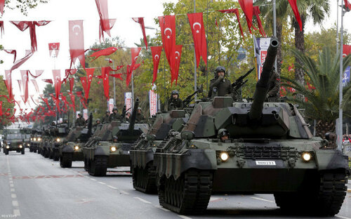 Госпереворот в Турции: танки, корабли и 8,5 тысяч военных