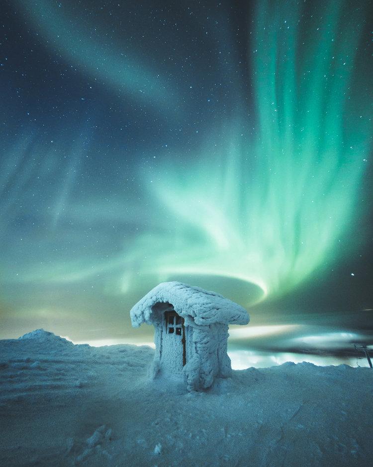 Сказочные снимки Финляндии