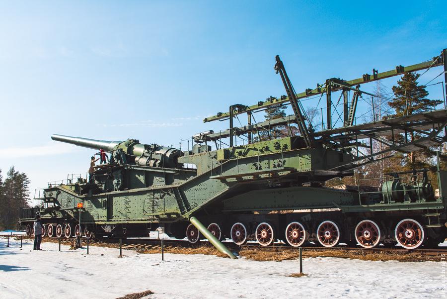 "alexbelykh.ru, Форт ""Красная горка"", Железнодорожный артиллерийский транспортер"