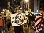 Волнения в США из-за победы Трампа