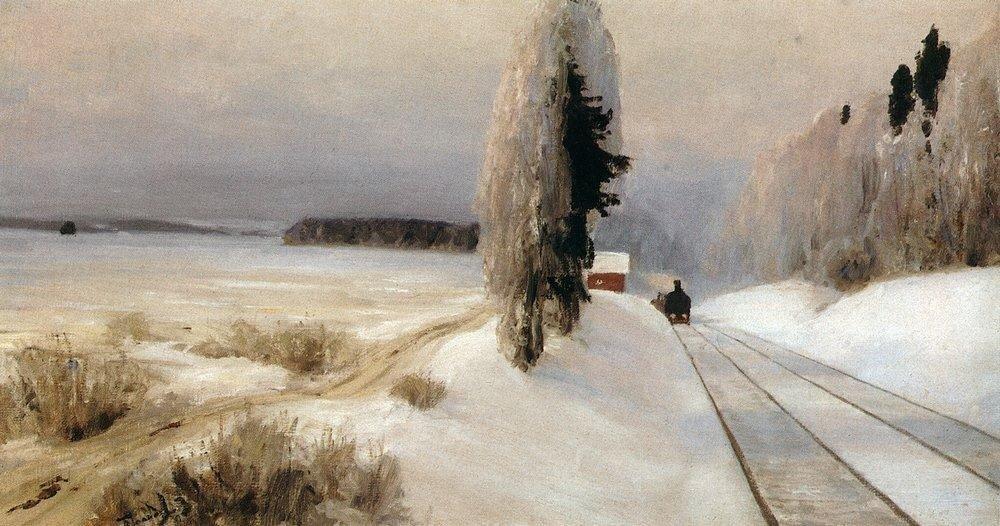 Железная дорога близ станции Тарусская. 1903.jpg