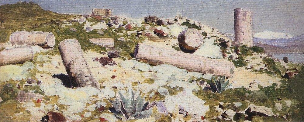 Развалины Тивериады. 1882-1883.jpg