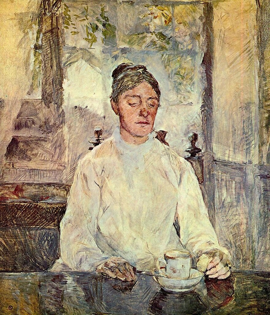 Portrait of Comtesse Adele-Zoe de Toulouse-Lautrec (The Artist Mother) - 1883 - PC - Drawing.jpeg
