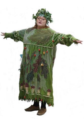 Женский карнавальный костюм Лесная волшебница