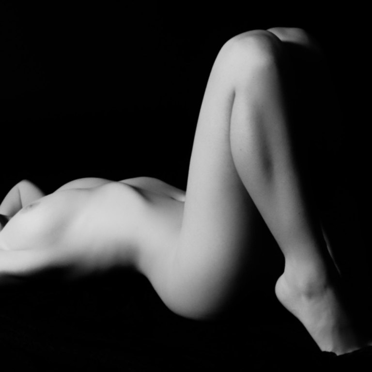 black and white nude women № 40930