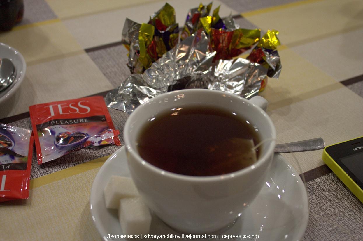 Чай в антракте - чай театральный