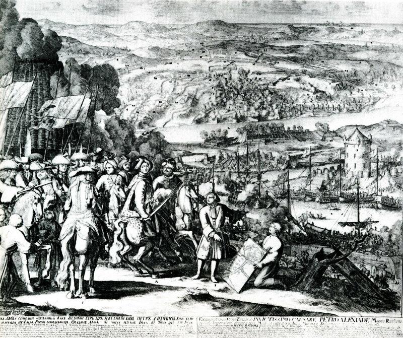 А. Шхонебек. Осада Азова в 1696 году. 1699-1700