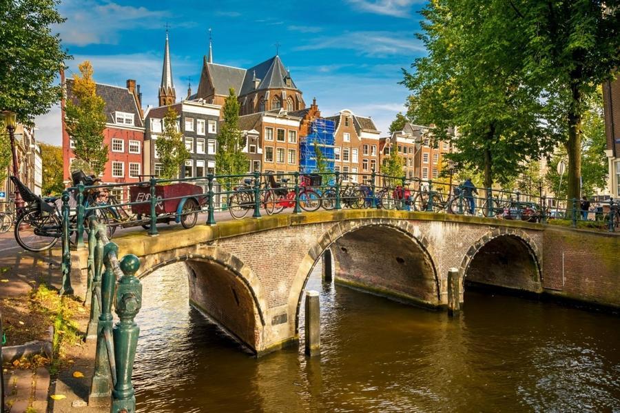 4. Жители Нидерланд отличаются высокой физической активностью и любовью к велопрогулкам. Они гордятс