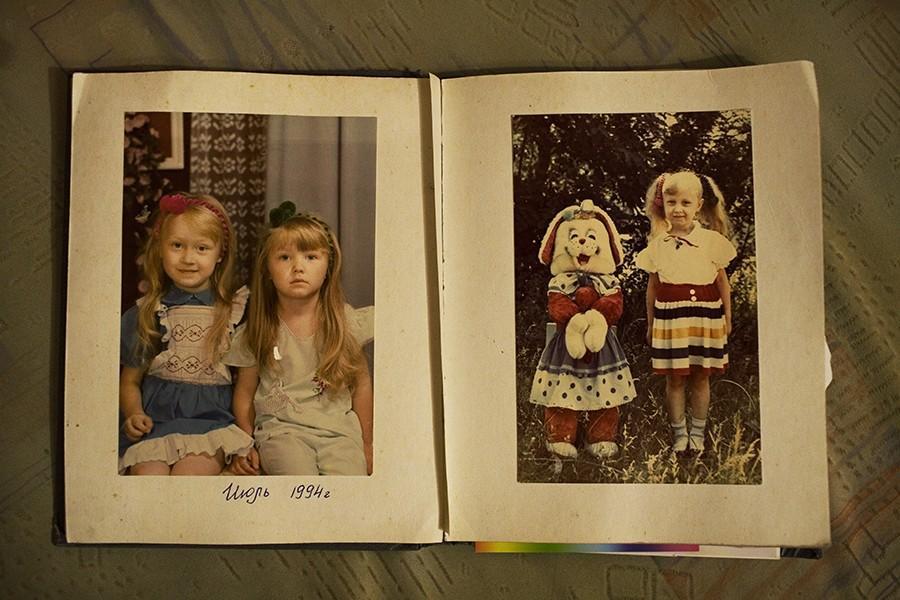 17. Дневник Инессы Юринской, в котором она хранит воспоминания и десткие фотографии.