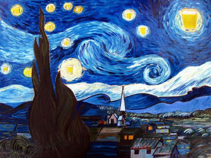 Звездная пинта (Винсент Ван Гог).