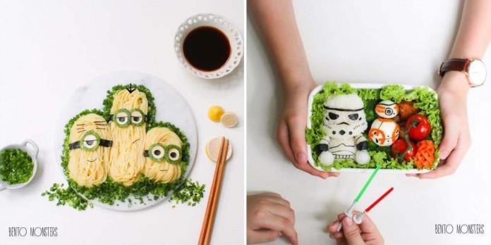 Креативные обеды в школу