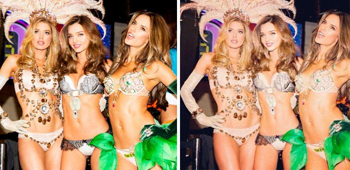 Модели Victoria's Secret.