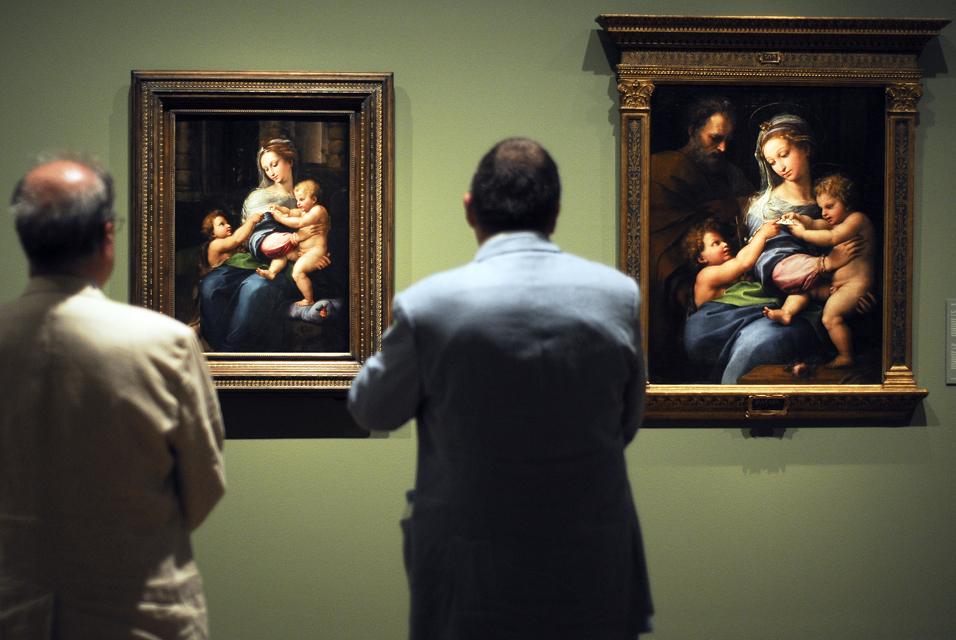 Пушкинский музей ограничил посещение выставки Рафаэля до45 мин.
