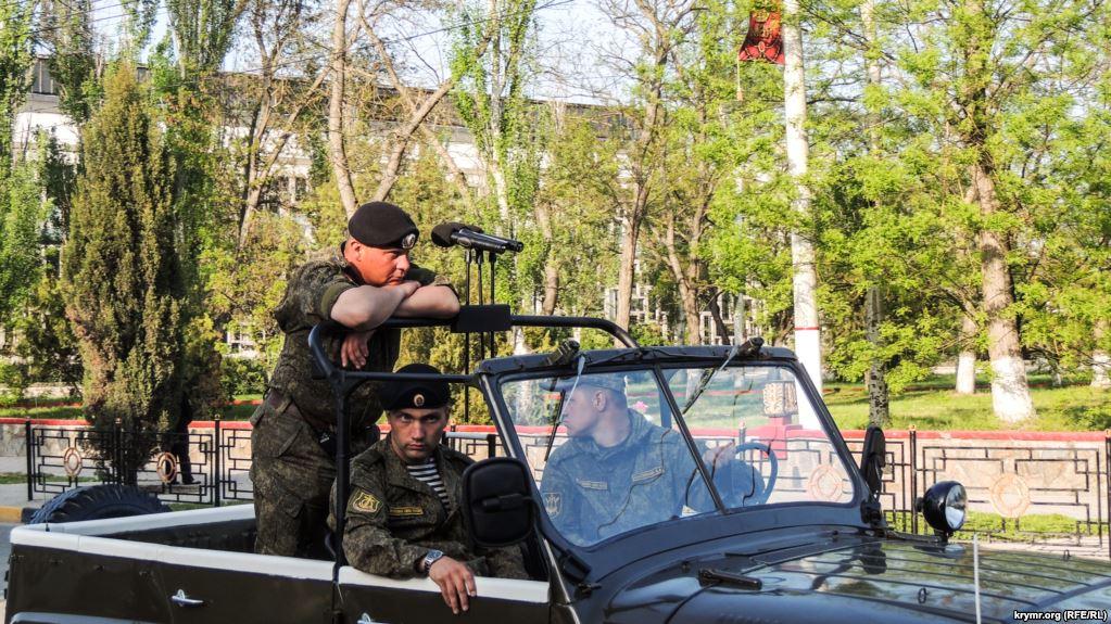 Парадом на9мая вКерчи будет командовать прежний украинский военный