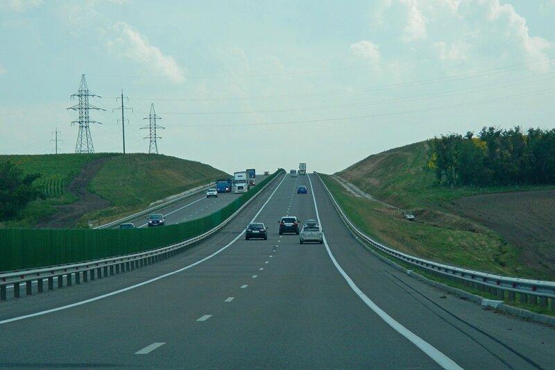 Автотрасса М4 - Путешествие из Кирова в Крым на автомобиле