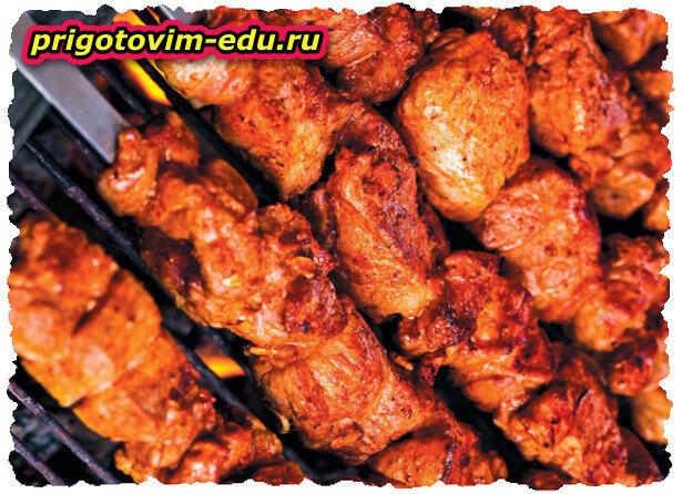 «Первомайский» шашлык из свиной шеи