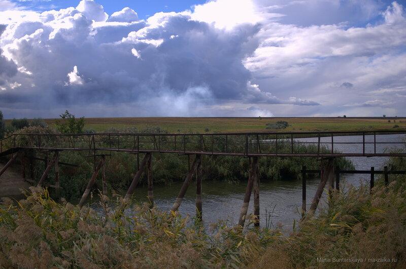 Пейзажи Новобурасского района, 09 сентября 2016 года