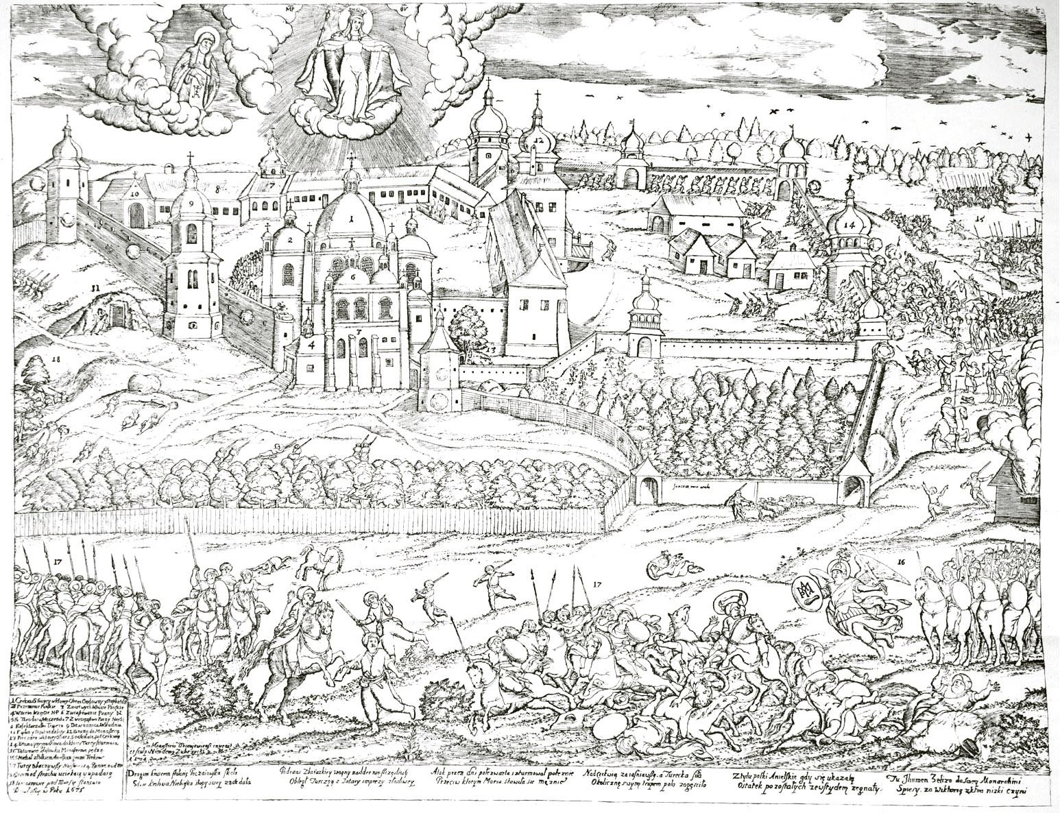 36. ������������ ���������� ����� �� �����, ������� ����������� ������ �������� �����������, 1704 ����.