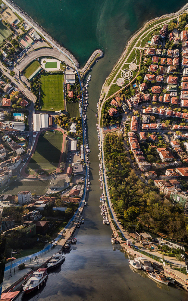 Flatland: Surreal Cityscapes by Aydin Buyuktas