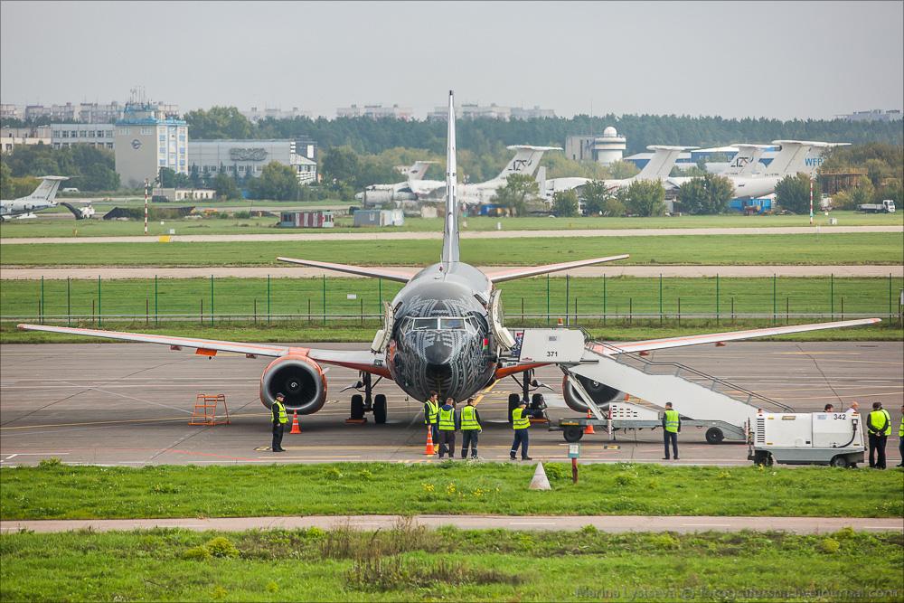 Аэропорт Жуковскиий принял сегодня первый рейс!