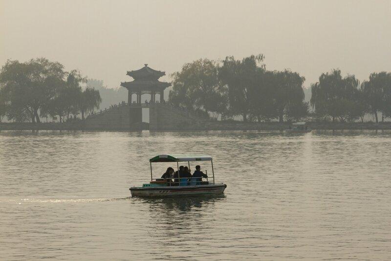 Западная дамба, парк Ихэюань, Летний императорский дворец, Пекин