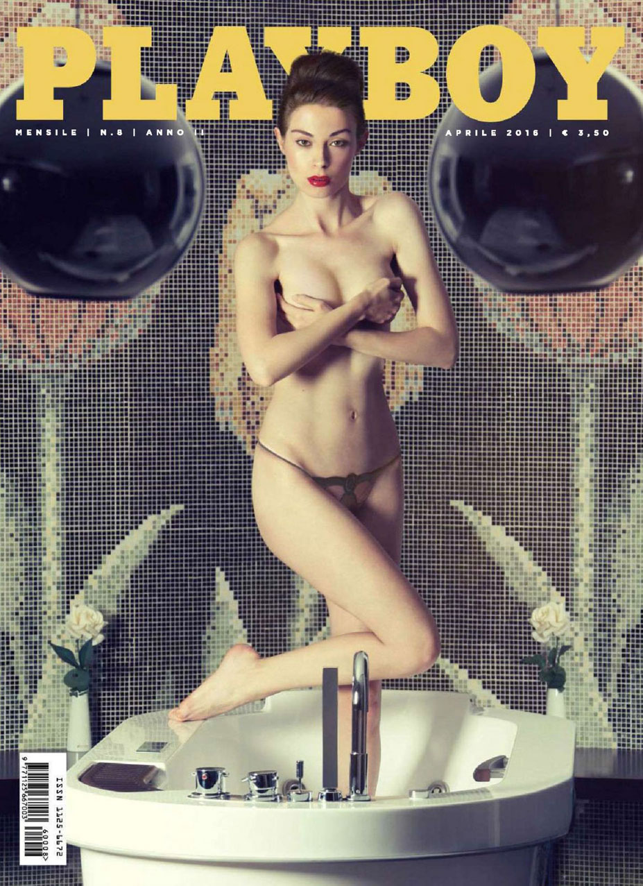 Симона Басти / Simona Basti - Playboy Italia april 2016