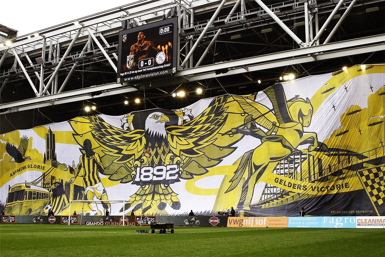 Soccer tifos / Гигантские баннеры футбольных болельщиков со со стадионов по всему миру - Vitesse