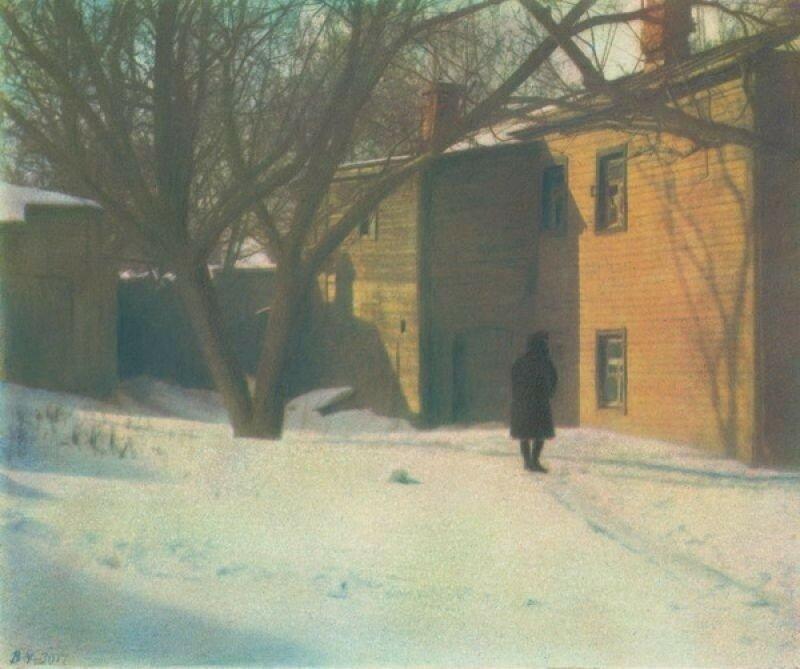 502138 Дворик на Антроповке, в Самотёчных переулках 1930 Василий Улитин.jpg