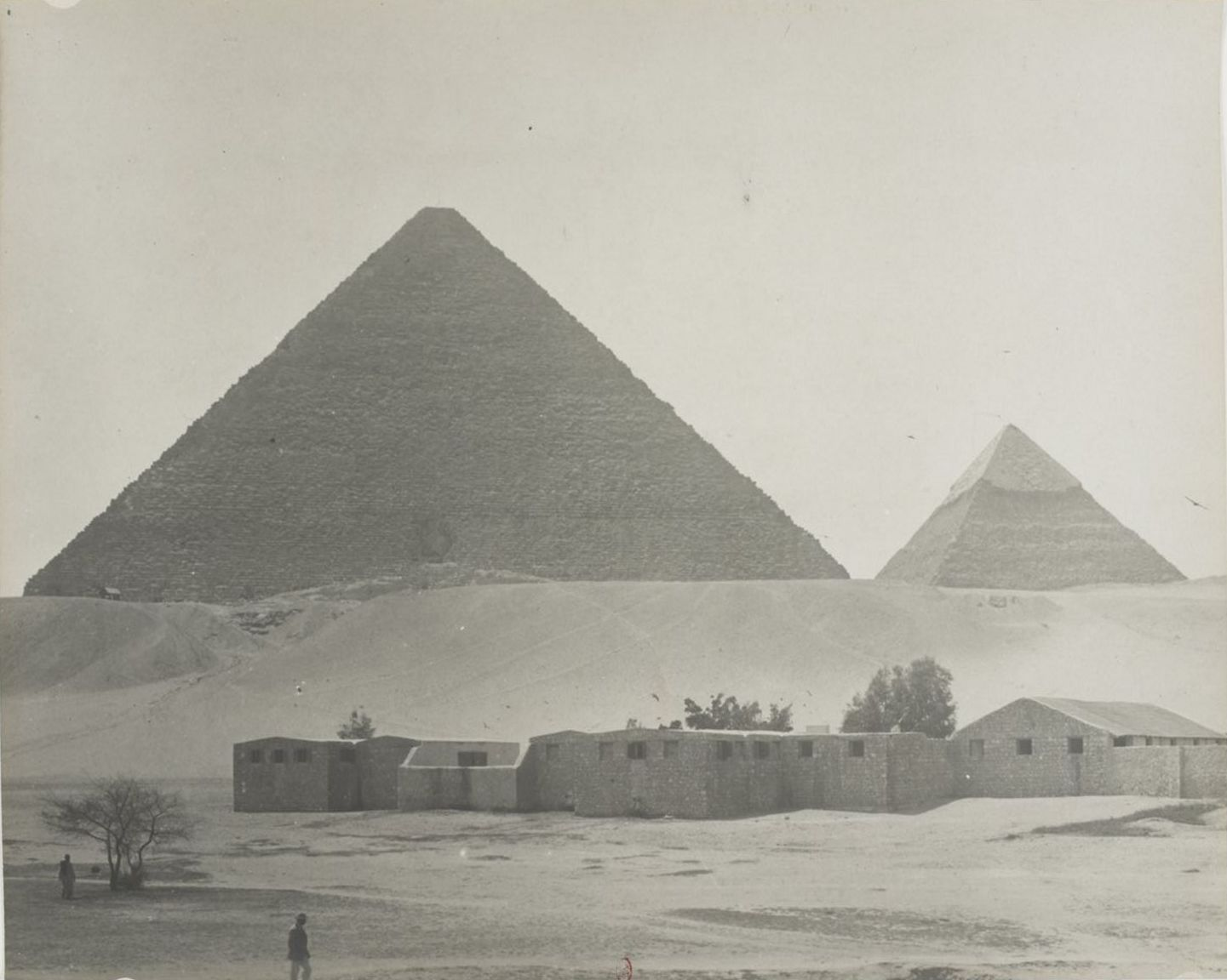 Гиза. Пирамиды. 1900-е
