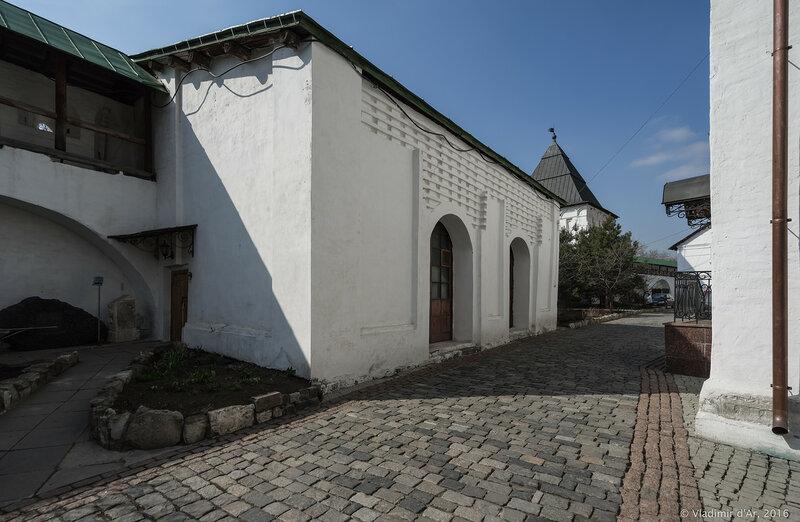 Квасоварня. Новоспасский монастырь.