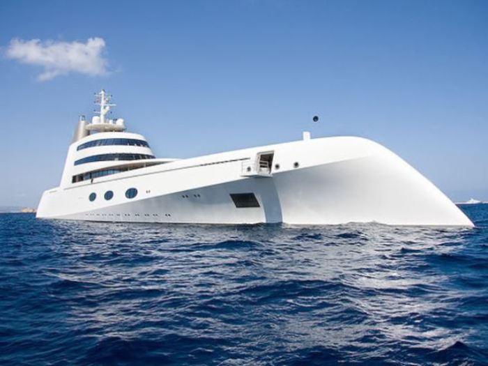 Дорогие и роскошные яхты, которые принадлежат российским олигархам