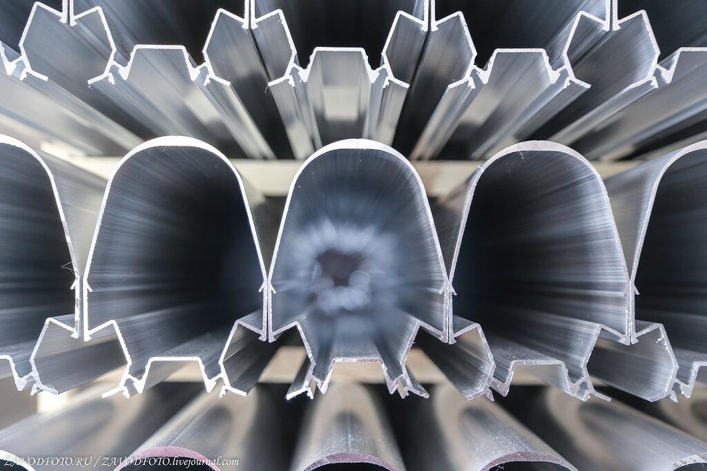 Где рождается алюминиевый профиль