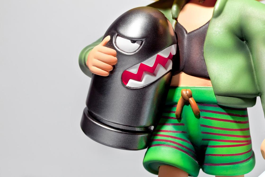 Leon – When Mario pays tribute to the cult movie with an awesome figurine