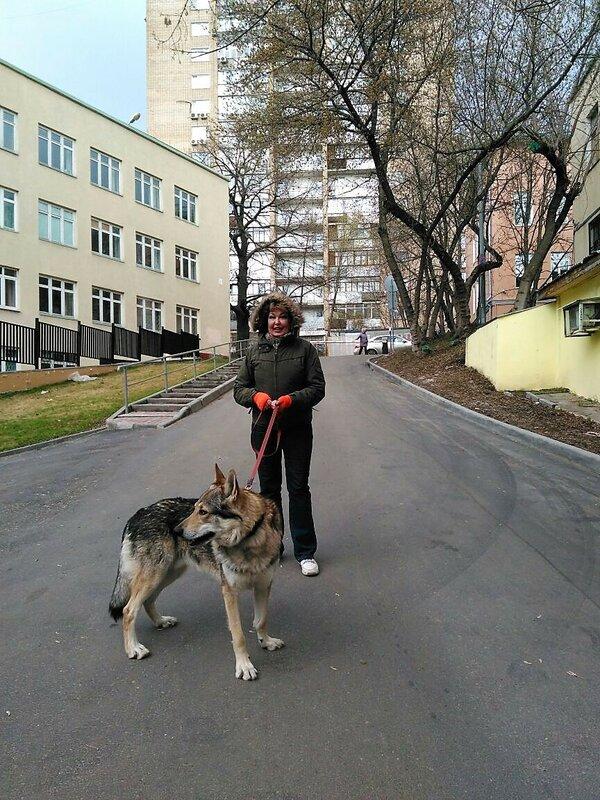 Канис с хозяйкой 22 апреля 2018 4.jpg