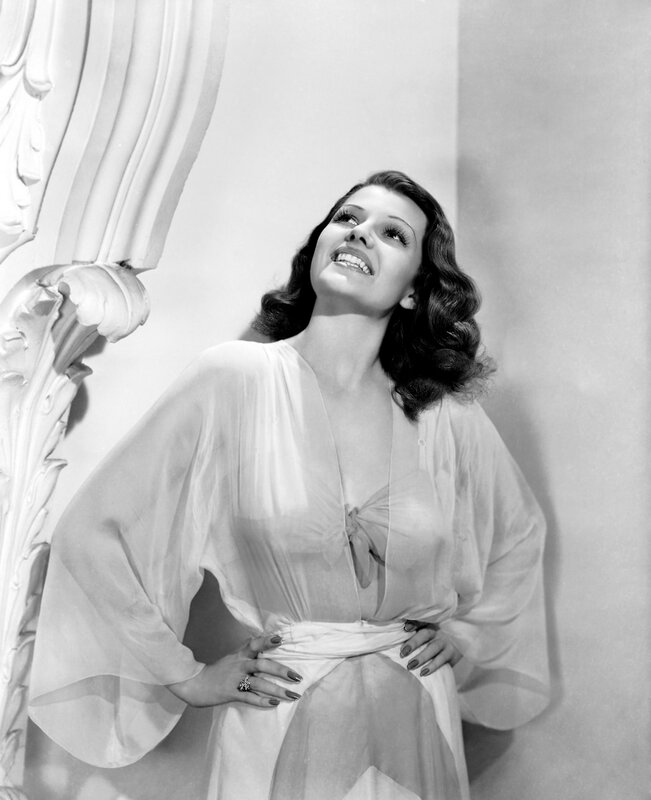 1941: Rita Hayworth (1918 - 1987) plays irresistible socialite Dona Sol des Muire in 'Blood and Sand', directed by Rouben Mamoulian.