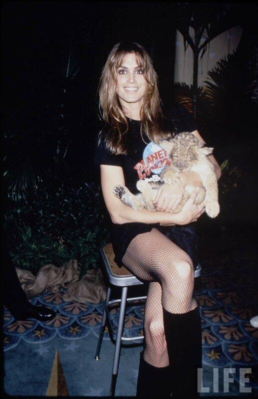 Cindy Crawford 1980-1995 из коллекции LIFE