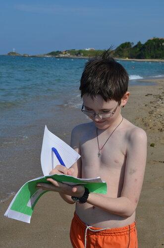 математика у моря