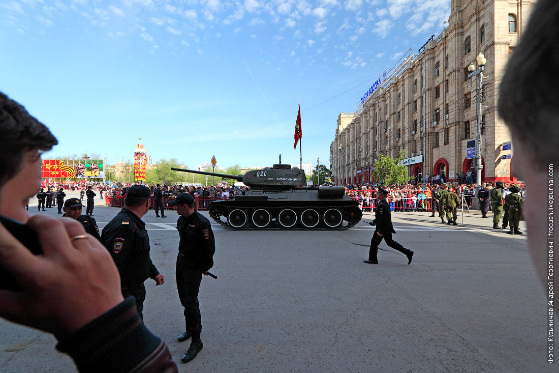 9 мая парад День Победы Волгоград