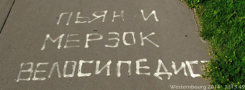1313.49 Пьян и мерзок велосипедист