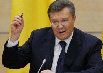 Виктор Янукович проведёл пресс-конференцию
