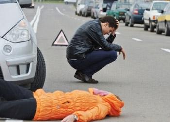 Вчера в столице произошло 4 случая наезда на пешеходов