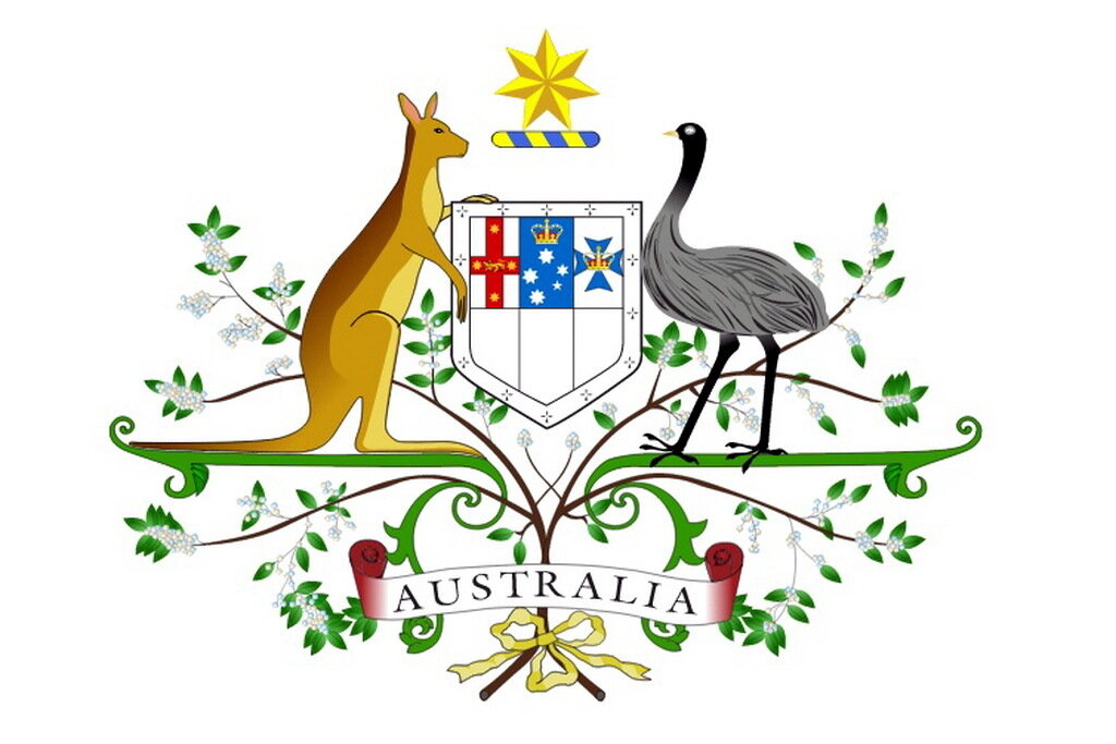 Австралия the land down under земля вверх