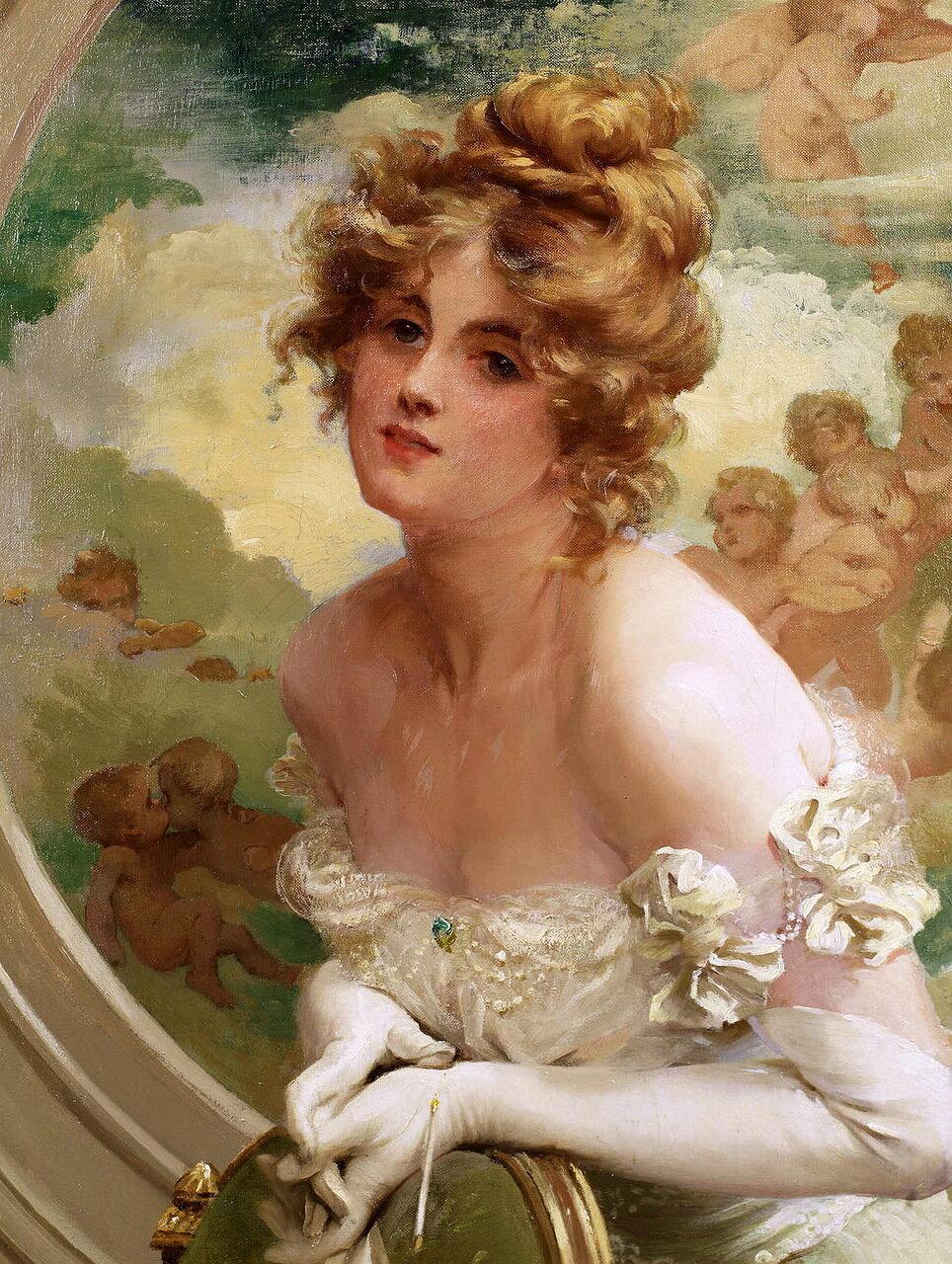 St. George Hare (Irish, 1857-1933) - The Debutante