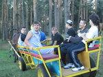 С 21 по 31 июля 2015 г ребята из Куровского интерната, в том числе 6 человек на инвалидных колясках, отдыхали в Тверской области в парке отдыха Юрьевское на Волге