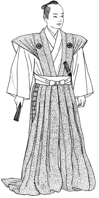 Традиционная одежда. Период Эдо (1603 -1868)
