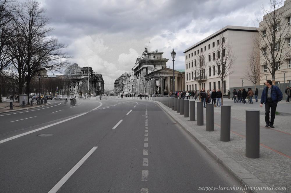 39 Берлин 1945-2010. Бранденбургские ворота.jpg