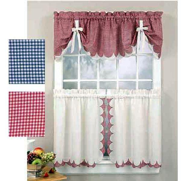 идеи для украшения окна  на кухне